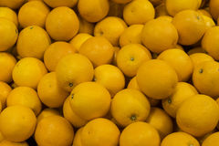 A pile of oranges stock images