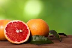 Oranges and grapefruit Stock Photo