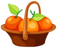 Free Oranges In Basket Stock Images - 13583174