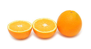 Oranges, isolated Royalty Free Stock Photo