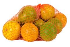 Oranges. Isolated Stock Image