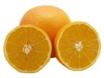 Oranges.Isolated. Photo libre de droits