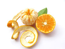 Oranges-Isolated stock photo