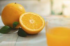 Oranges isolated cut set on wooden base.  royalty free stock image