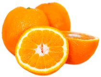 Oranges - isolated stock photography