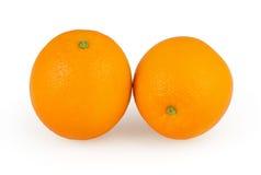 Oranges isolated on white Stock Photo