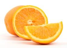Oranges. Isolated on white Stock Images