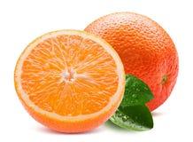 Oranges isolated on a white background Stock Photo