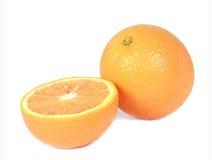 Oranges isolated royalty free stock photos