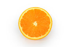 Oranges isolated. On white background Stock Image