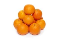 Oranges. Isolated on white background Stock Images