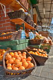 Oranges in the Jaffa Market Royalty Free Stock Images