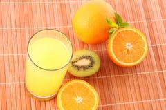 Oranges  juice Royalty Free Stock Photos