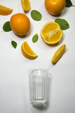 Oranges for juicing Royalty Free Stock Images