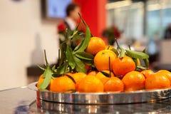 Oranges juteuses photo libre de droits