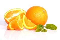 Oranges juteuses Photos stock