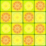 Oranges and lemons Royalty Free Stock Image