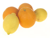 Oranges and Lemons Stock Photos