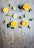 Oranges and lemons Stock Photo
