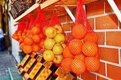 Oranges and Lemons  in the Jaffa Market Royalty Free Stock Photography