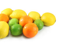 Oranges, lemons, limes Royalty Free Stock Images