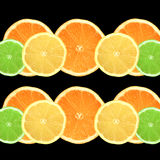 Oranges, Lemons and Limes Stock Images