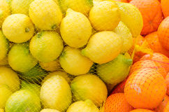Oranges and lemons Royalty Free Stock Photo