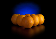 Oranges like billiard balls Royalty Free Stock Photography