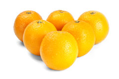 Oranges like billiard balls Royalty Free Stock Photos