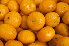 Oranges lots and lots of oranges - texture map.  Royalty Free Stock Photo