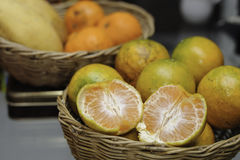 Oranges&mangoes Royalty Free Stock Image