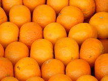 Oranges. Many oranges from the market Stock Photo