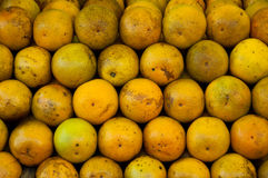Oranges in the Market Stock Photography