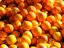 Oranges. On market place for sale Royalty Free Stock Photo
