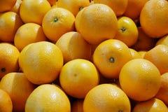 Oranges on market stall fruit royalty free stock image
