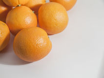 Oranges navel Images libres de droits