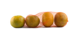 Oranges in net Royalty Free Stock Image