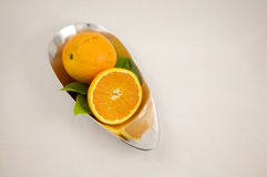 Oranges, organic Vitamin C Royalty Free Stock Photos