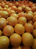 Oranges organiques fraîches Photographie stock libre de droits