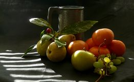 Oranges and pears Royalty Free Stock Images