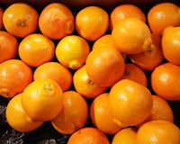 Oranges. Picture of groupe of oranges stock photography