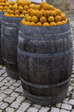 Oranges portugaises Photographie stock