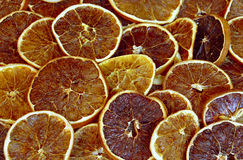 Oranges sèches Photo libre de droits