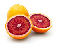 Oranges sanguines Photographie stock libre de droits