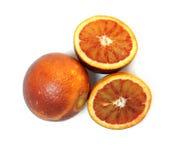 Oranges siciliennes Photos libres de droits