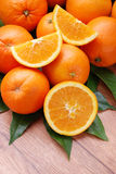 Oranges from Sicily Stock Photos