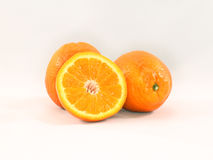 Oranges and Slice Stock Photos
