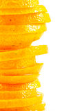 Oranges sliced Royalty Free Stock Images