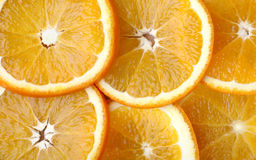 Oranges Slices Stock Images