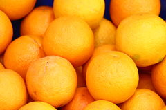 Oranges. Some oranges on the market royalty free stock image